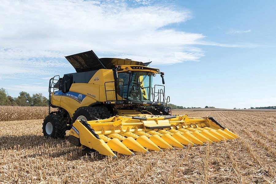 Жатки New Holland для кукурузы