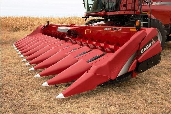 Жатки CASE для кукурузы
