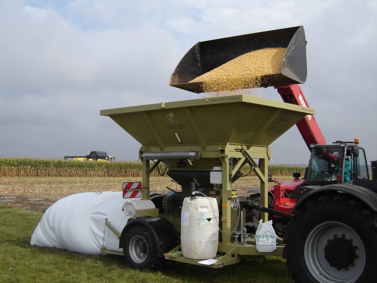 Зерно хранение